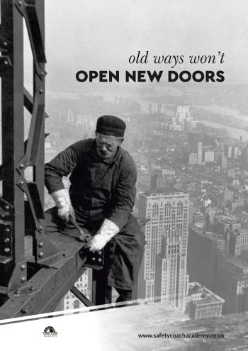 Open New Doors Safety Poster