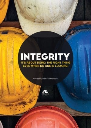 Integrity Health & Safety Poster