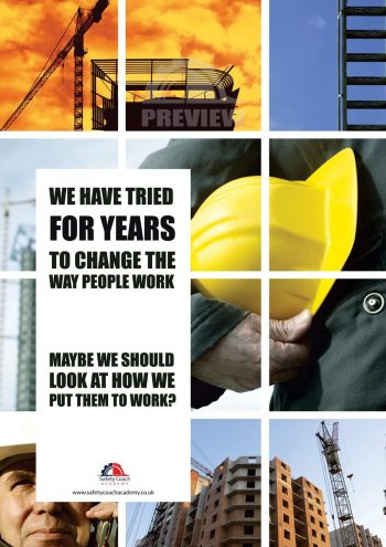 Change The Way We Work Poster