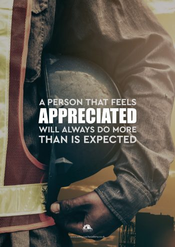 A person That is Appreciated Poster