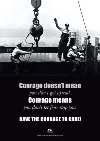 Courage to Care Poster