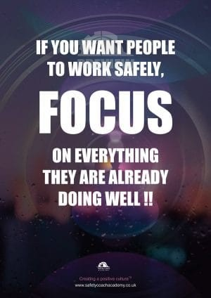Focus Safety Poster