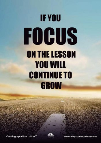 Focus on the Lesson Poster