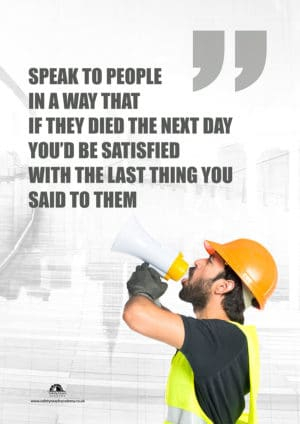Speak to People Poster
