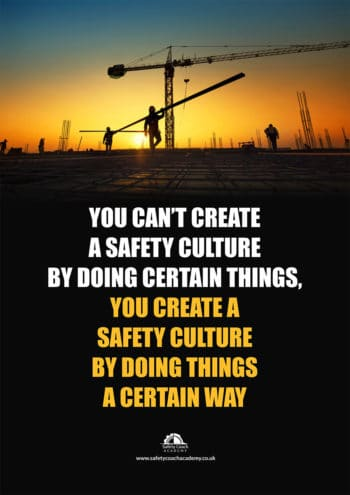 Safety Culture Poster